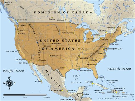 map of united states and mexico with cities map of united states of america in 1917 nzhistory new