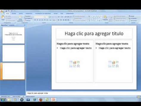 tutorial de powerpoint 2010 hipervinculos usar patr 243 n de diapositivas ms powerpoint 2007 namathis