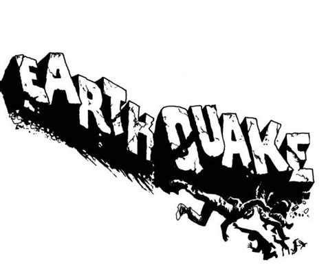 earthquake logo the gallery for gt earthquake logo