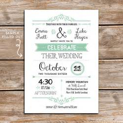 jaw dropping diy wedding invitation templates theruntime