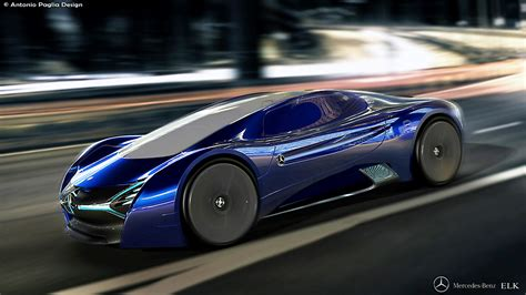mercedes elk the mercedes benz elk electric supercar imagination