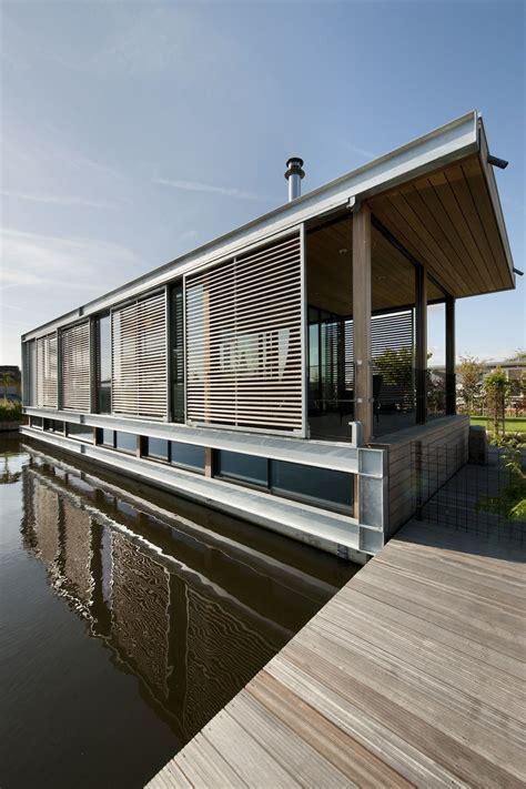 woonboot aalsmeer woonboot aalsmeer 10 by kodde architecten houseboats