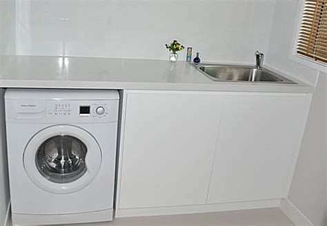 laundry benches laundries infinity kitchens joinery canberra kitchen