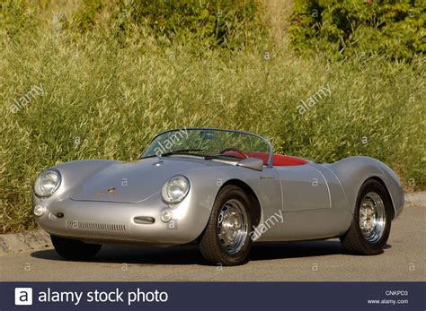 porsche spyder dean porsche 550 spyder dean replica stock photo royalty