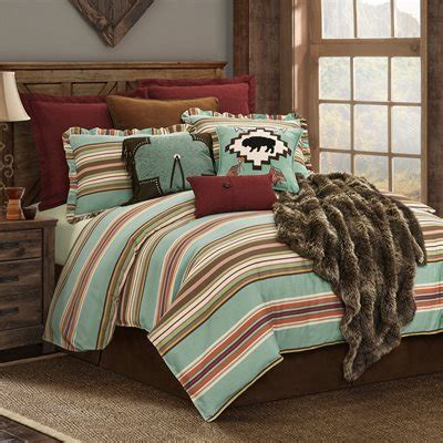 serape bedding rustic bedding