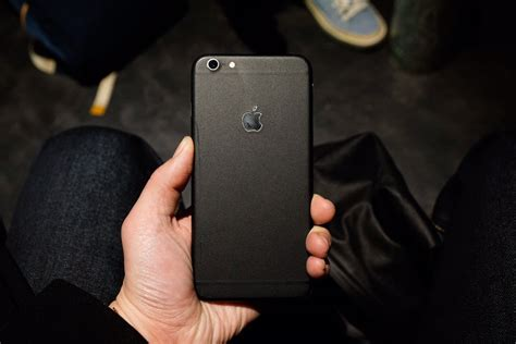 look dbrand iphone 6s skin in matte black insight