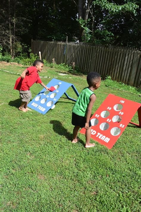 backyard bean bag toss game how to make a diy backyard bean bag toss game