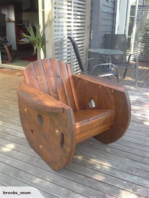 Cable Reel Rocking Chair by 25 Best Ideas About Spool Chair On Wood Spool
