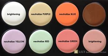 different color concealers concealer make up