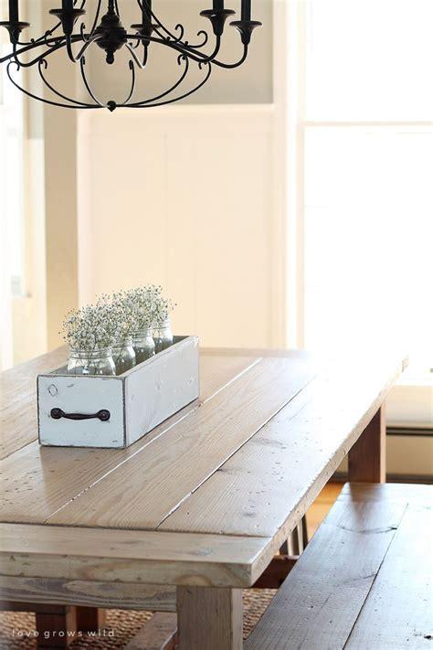 Large Farm Dining Room Tables 1000 Ideas About Farmhouse Table Decor On
