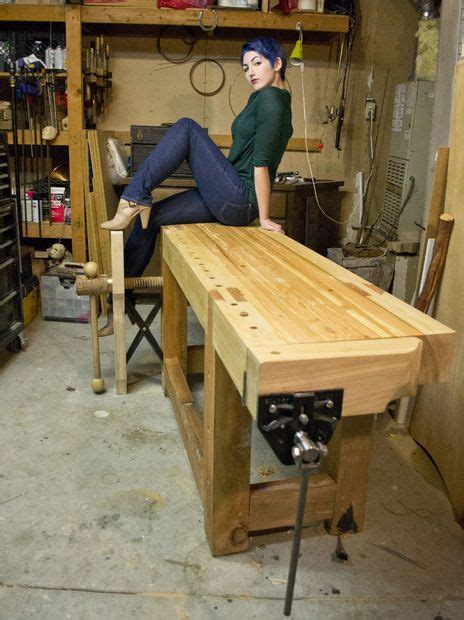 roubo style workbench wood working pinterest