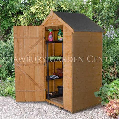 4 X 3 Shed by Forest Garden 4 X 3 Shiplap Dip Treated Shed Assembled