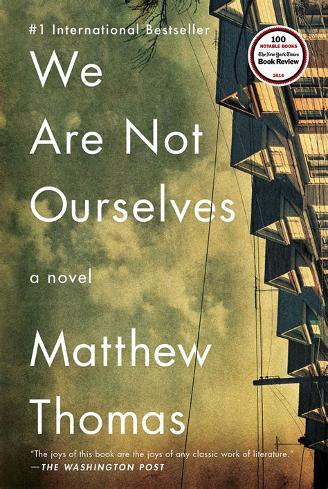 not books we are not ourselves book by matthew official