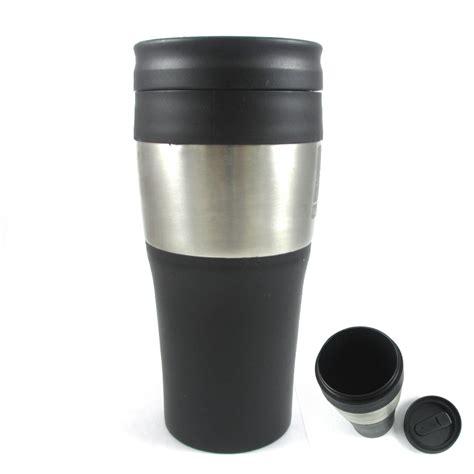 Termos Mug Stainleaa 16 oz stainless steel insulated wall travel coffee tea mug cup thermos ebay