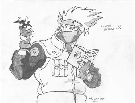 Pencil Kakashi Sai Anime kakashi hatake by ascended spartan on deviantart