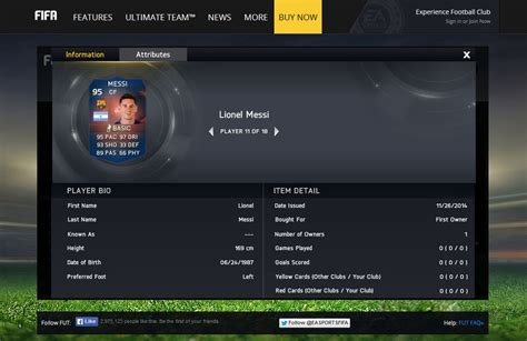 reset online record fifa 15 fifa 15 ultimate team delivers record breaker messi