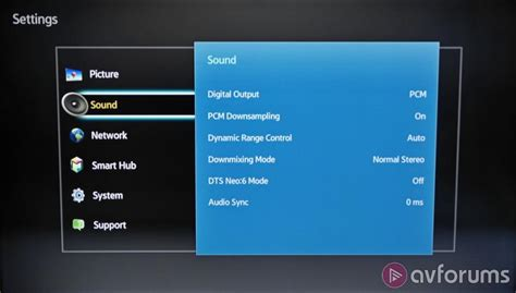 audio format bitstream or pcm samsung bd h6500 3d blu ray player review avforums