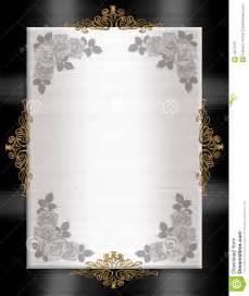 free formal invitation template formal invitation template black white royalty free stock