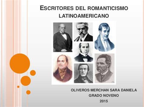 imagenes figurativas y sus autores escritores del romanticismo latinoamericano