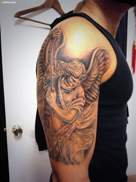 warrior angel tattoo designs 40 most amazing warrior tattoos best 3d