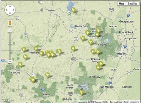 texas wineries map hill country tx hill country wineries let s go somewhere