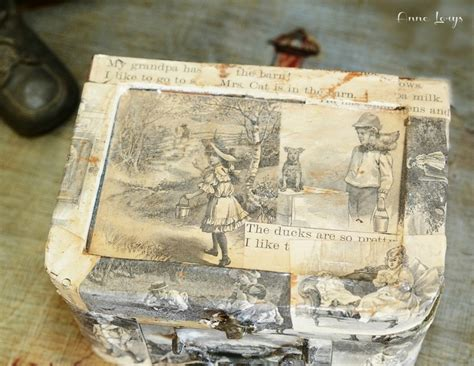 Decoupage Vintage Suitcase - 54 best images about decoupage suitcases trunks on