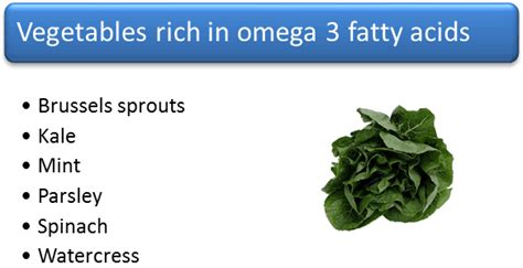 3 vegetables in foods high in omega 3 other than fish