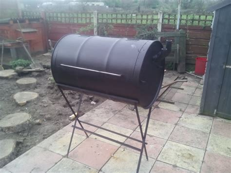 building pit drum how to build your own no weld drum bbq smoker your projects obn