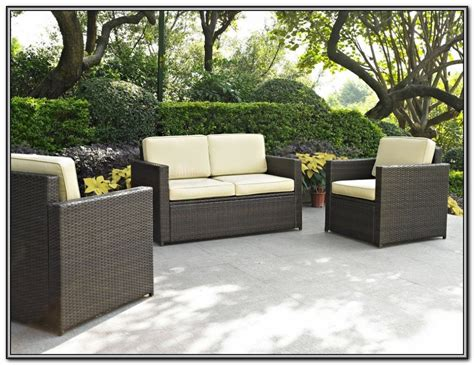 wicker patio furniture at kmart patios home decorating