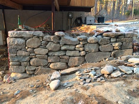 Concord Retaining Walls Drystack Retaining Wall Lincoln Ma Concord