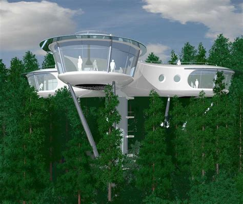 planning to build a house treehouse architecture competition tropical island resort