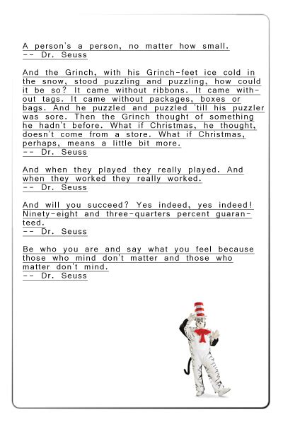 dr seuss rhymes quotes quotesgram