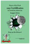 free printable golf certificates golf awards golf