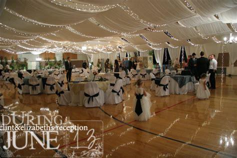 LDS Living   Print: 10 Elegant Cultural Hall Wedding