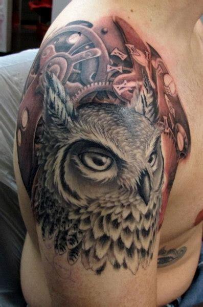 tato owl keren koleksi tato burung hantu atau owl tatto terbaik