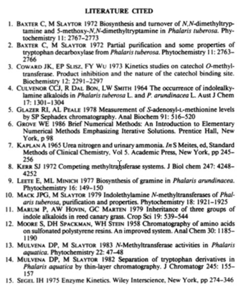 dmt research paper mathematical model for dmt synthesis from phalaris
