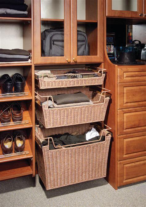 closet baskets traditional closet nashville by