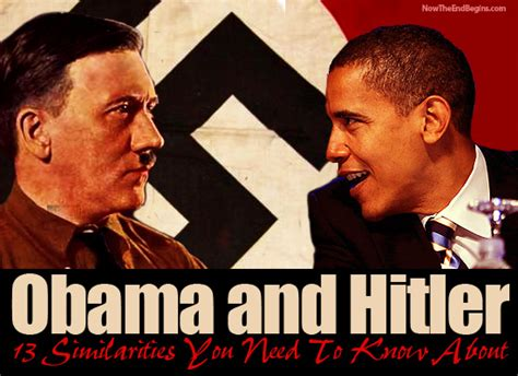 Obama Hitler Meme - nteb 13 similarities between obama and hitler