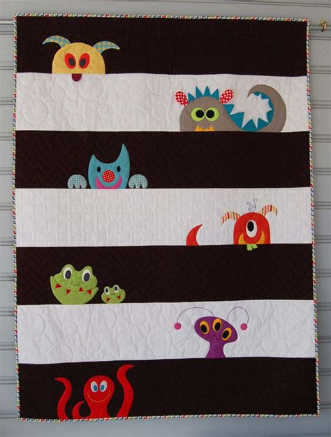 monsters crib bedding crib quilt bedding monsters by