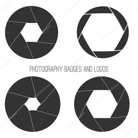 vector collection of photography logo templates photocam