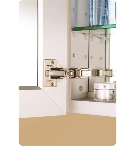 4 inch deep medicine cabinet glasscrafters gc3630 4 sc fm tri 36 quot x 30 quot flat mirrored