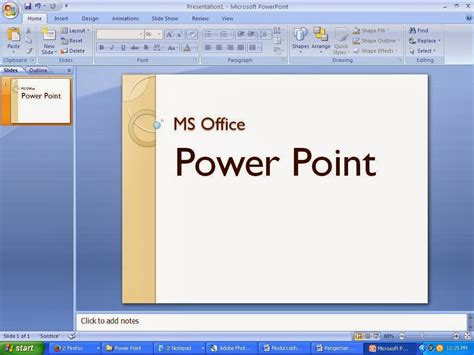 pengertian layout dalam power point pengertian aplikasi komputer ms office power point