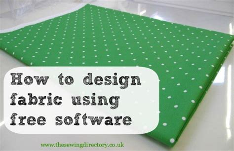 textile pattern design software free how to design fabric using gimp