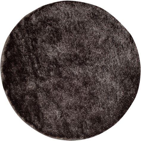 runde teppich runde teppiche cosy grau trendcarpet de