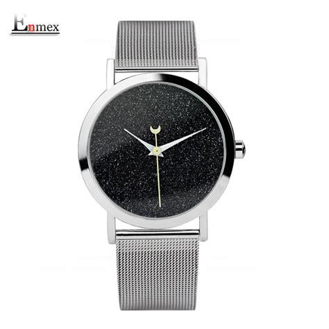 Jam Tangan Analog Wanita Fashion enmex jam tangan analog fashion wanita e7302 black