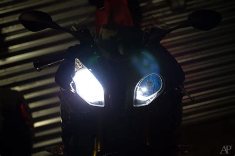 h7 len erfahrung 2015 bmw s1000rr first mod lights moto foto medium
