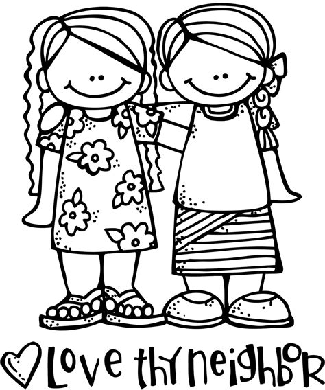 love themed coloring page way fun clipart for church tons relief society