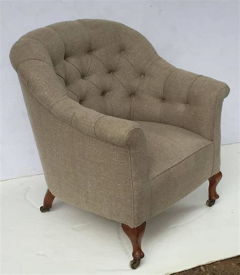 legs for armchairs english upholstered armchair on turned legs for sale at
