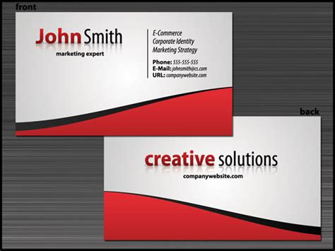 how to create business card 10 high quality business card tutorials with psd templates