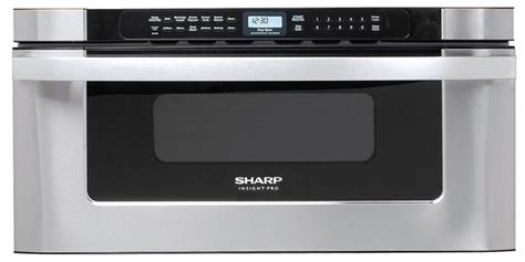 sharp 30 microwave drawer dimensions sharp kb6525ps 30 inch built in microwave drawer with 1 2